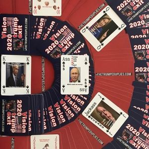 The Trumped Up Lies or 2020 Vision Playing Cards